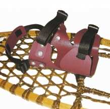 Fixation de raquettes style double usage - Snowshoes double use style bindings