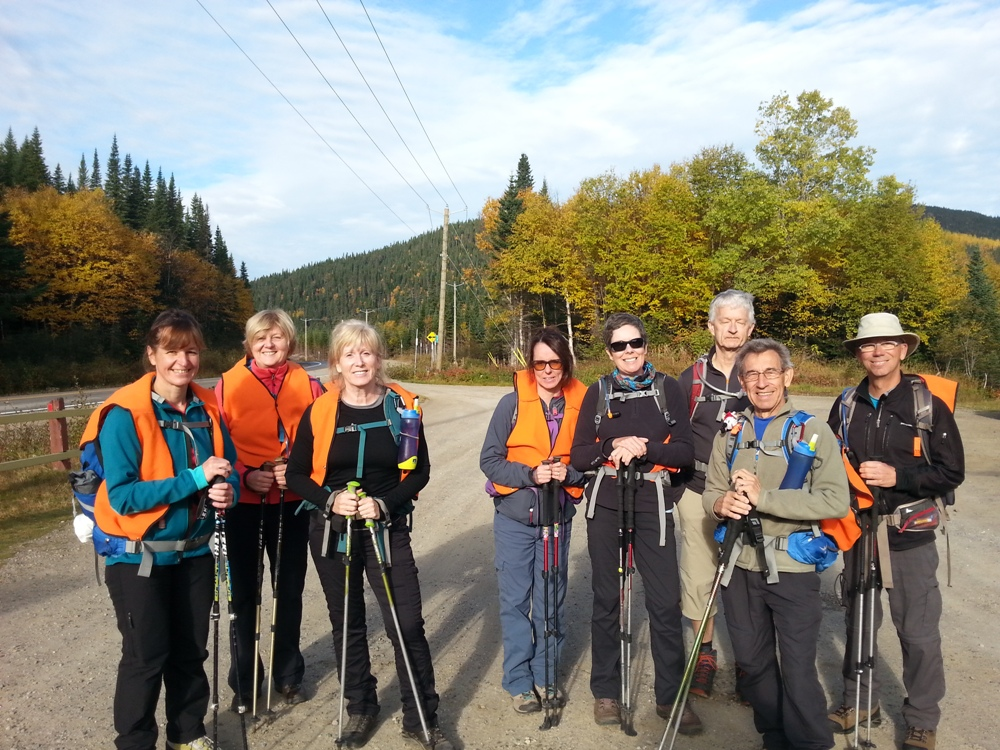 Hiking in Charlevoix with Club Plein Air 5 Saisons