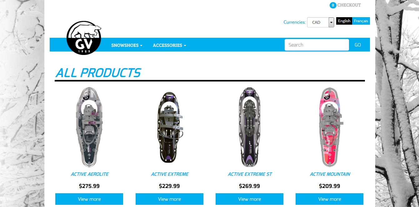 Buy snowshoes online