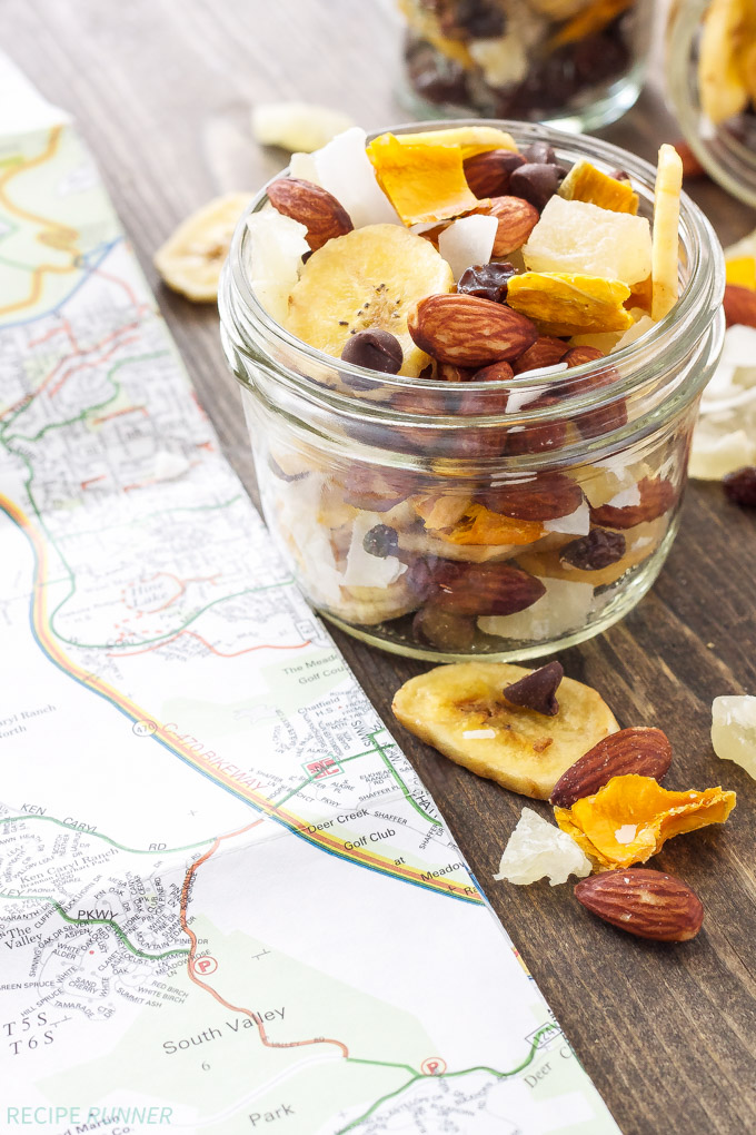 A healty and hearthy snack for hiking