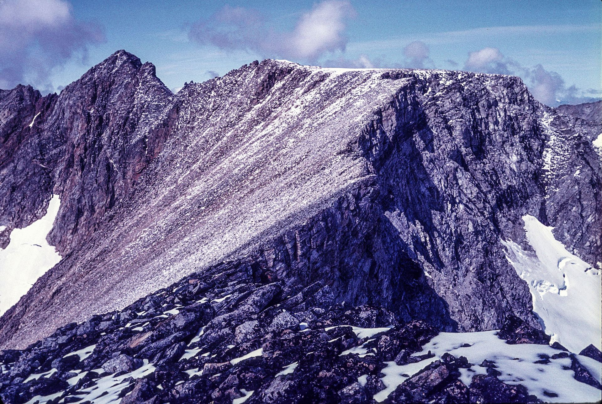 Mount D'Iberville: the highest mountain in Quebec